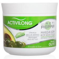 Activilong Actirepair Masque Soin Réparateur aux Huiles d'Olive et Avocat Bio 200 ml