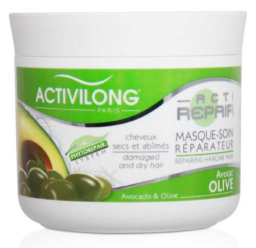 activilong actirepair masque soin r parateur aux huiles d 39 olive et av. Black Bedroom Furniture Sets. Home Design Ideas