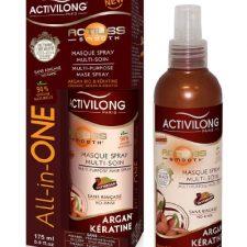 Activilong Actiliss Masque Spray Multi-Soin All-in-One Argan Bio et Kératine 175 ml